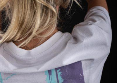 Shirt Damen Back close